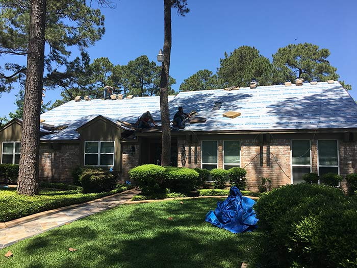 Residential Roofing Contractors In Houston TX